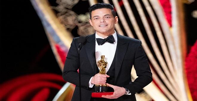 المصري رامي مالك يظفر بأوسكار أفضل ممثل