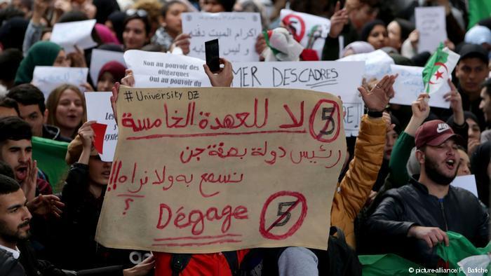 الولايات المتحدة تدخل على خط الحراك الجزائري