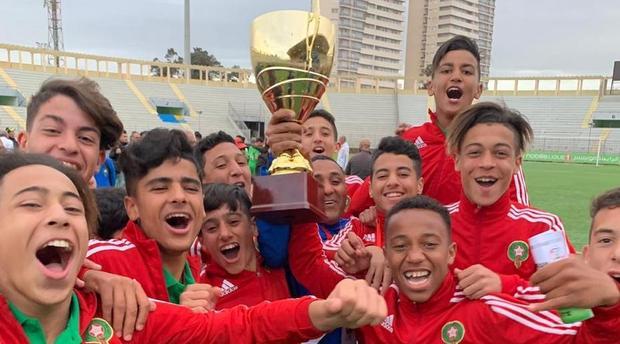 المنتخب الوطني لأقل من 15 سنة يتوج بلقب كأس شمال إفريقيا