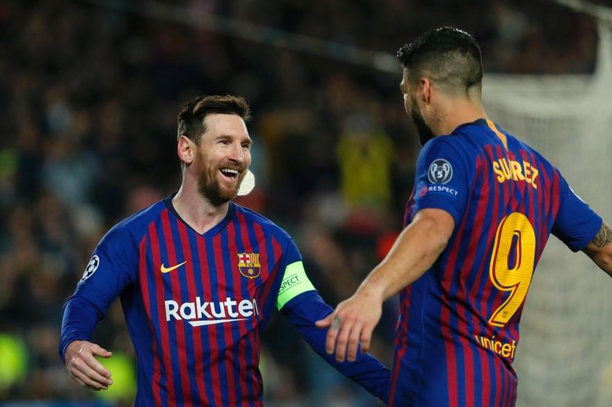 دوري أبطال أوروبا: برشلونة يقسو على ليون بخماسية ويمر لربع النهائي