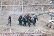 بالفيديو.. مصرع عاملين إثر انهيار سور بالبيضاء