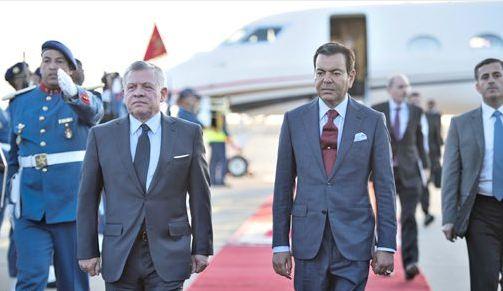 العاهل الأردني يغادر الدار البيضاء في ختام زيارة صداقة وعمل للمغرب