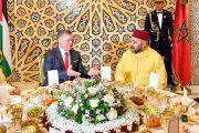 الملك محمد السادس يقيم مأدبة غداء على شرف ملك الأردن