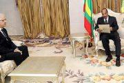 رسالة خطية من الملك إلى الرئيس الموريتاني