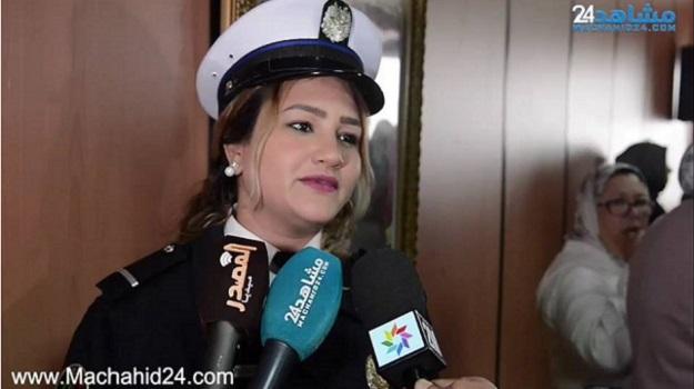 بالفيديو.. الأمن يحتفي بنسائه بمناسبة 8 مارس