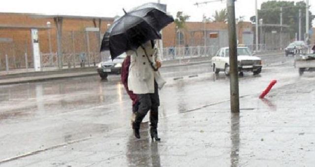 نشرة طقس إنذارية.. أمطار ورياح قوية إلى غاية يوم الجمعة