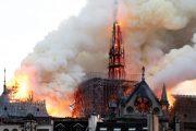 حريق نوتردام.. ماكرون يستقبل وفدا من اليونسكو برئاسة أزولاي والسفيرة العلوي