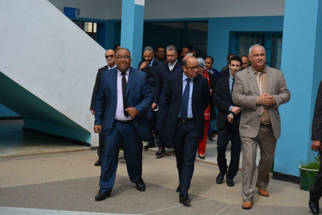 بالصور.. لجنة رفيعة المستوى تزور مركز الإصلاح والتهذيب بعين السبع