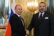 الملك يهنئ بوتين بالعيد الوطني لروسيا