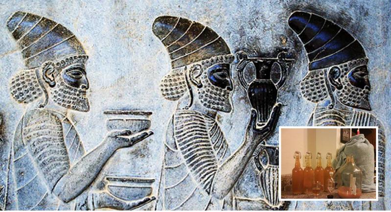 إعادة تصنيع مشروب كحولي يعود إلى العصر الفرعوني