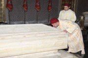 الملك يترحم على روح المغفور له الملك محمد الخامس