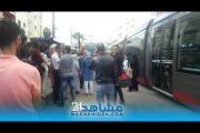 بيضاويون يشتكون من تجاوزات بمحطات الطرام بالمدينة