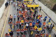 فاتح ماي بالمحمدية يجمع عمالا ونقابيين وأساتذة مطالبين بـ''الإنصاف''