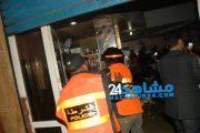 بالصور.. الشرطة تداهم مقاهي