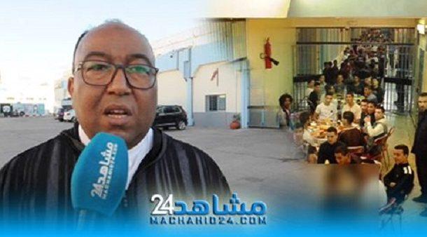 بالفيديو.. إفطار جماعي لفائدة نزلاء مركز الإصلاح والتهذيب عين السبع
