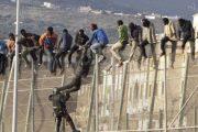 الأمن المغربي يوقف 40 مهاجرا حاولوا العبور نحو مليلية المحتلة