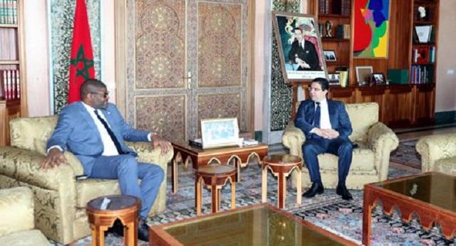 بوريطة يتباحث مع نظيره الليبيري حول التعاون الثنائي