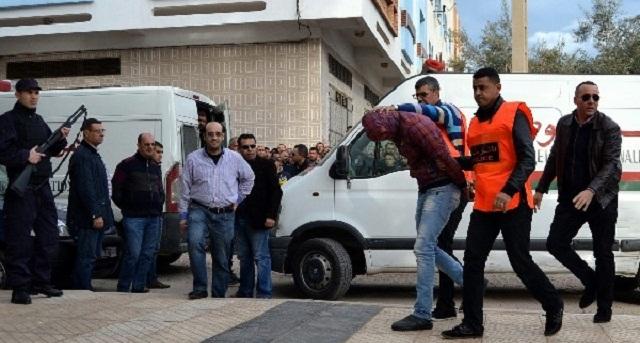 بعد أن هاجمته عائلته.. أمن البيضاء يطلق 9 رصاصات لتوقيف مجرم