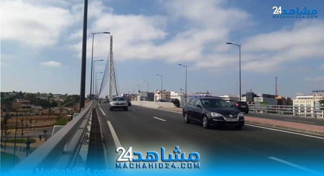 بالفيديو.. البيضاويون يستأنسون بالجسر المعلق بسيدي معروف