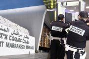 مطار مراكش.. توقيف