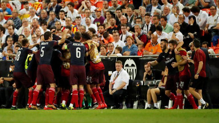 بالفيديو.. آرسنال يهزم فالنسيا ويصل إلى نهائي الدوري الأوروبي