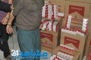 توقيف شاحنة محملة بسجائر مهربة قادمة من الداخلة في تجاه الدار البيضاء