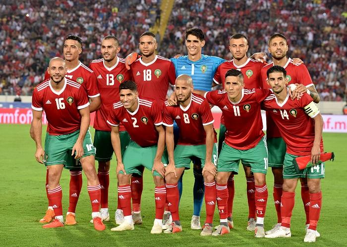 لاعبو المنتخب والبطولة يتفاعلون مع المغاربة بمناسبة العيد