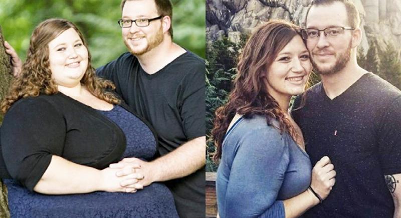 قصة ملهمة لزوجين قررا إنقاص وزنهما (فيديو)