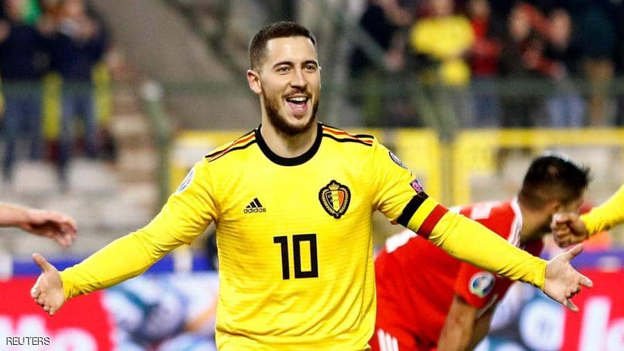 رسميا.. ريال مدريد يتعاقد مع النجم البلجيكي إدين هازارد