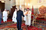 الرباط.. الملك محمد السادس يعين سفراء جددا ويودع دبلوماسيين أجانب
