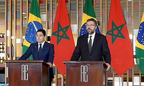 البرازيل: ندعم جهود المغرب من أجل التوصل إلى حل واقعي لقضية الصحراء