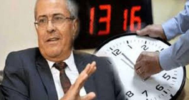 الوزير بنعبد القادر.. دراسة علمية أكدت عدم تأثير التوقيت الصيفي على الصحة