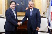 رئيس جمهورية الدومينيكان يستقبل بوريطة حاملا رسالة شفوية من الملك