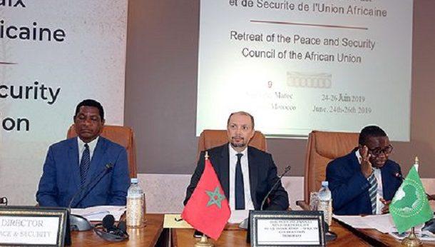 الصخيرات.. انطلاق أشغال الخلوة الـ12 لمجلس السلم والأمن الإفريقي