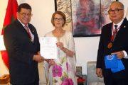 """تعيين سفيرة المغرب ببنما عضوا شرفيا في """"جمعية الدراسات الدولية"""""""
