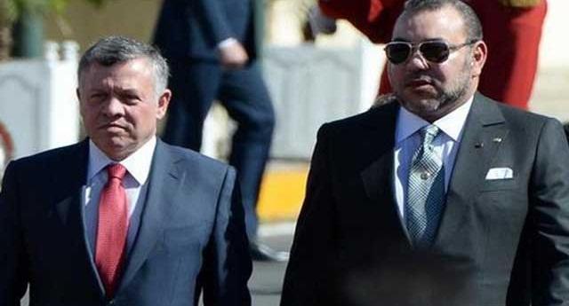 العاهل الأردني يعرب عن امتنانه للملك على مواقفه الداعمة للقدس