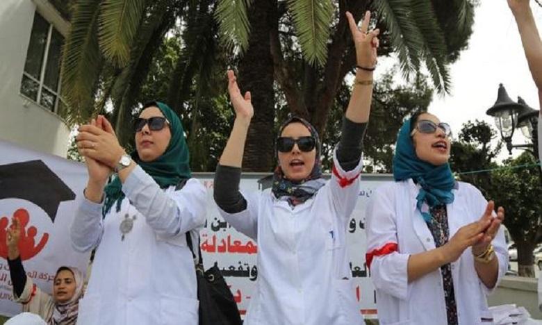 الممرضون وتقنيو الصحة يخوضون إضرابا جديدا