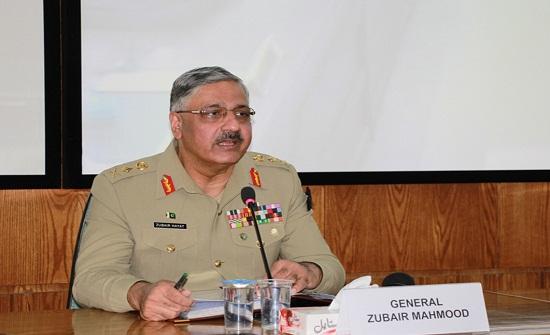 بتعليمات ملكية.. المفتش العام للقوات المسلحة الملكية يستقبل رئيس أركان القوات المسلحة الباكستانية
