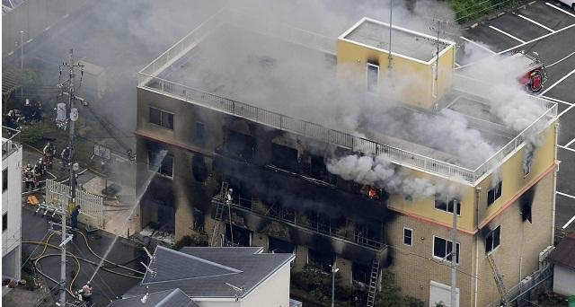 اليابان.. عشرات القتلى في حريق استوديو والشرطة تعتقل مشتبه فيه