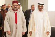 الملك محمد السادس يجري اتصالاً هاتفياً مع الشيخ محمد بن زايد