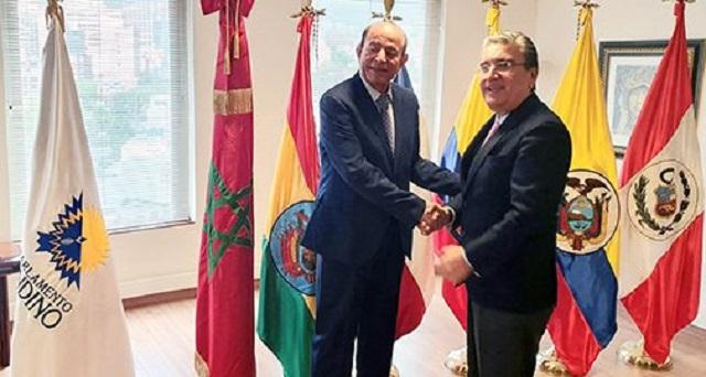 الرئيس الجديد لبرلمان الأنديز يجدد دعمه للوحدة الترابية للمملكة
