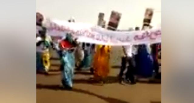 محتجون بمخيمات تندوف: