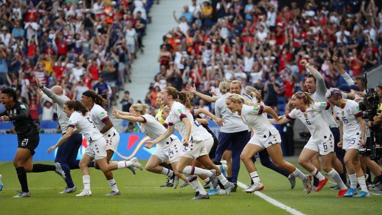 الولايات المتحدة الأمريكية تفوز على هولندا وتتوج بلقب كأس العالم للسيدات