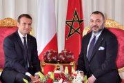 الملك يهنئ الرئيس الفرنسي بمناسبة العيد الوطني لبلاده