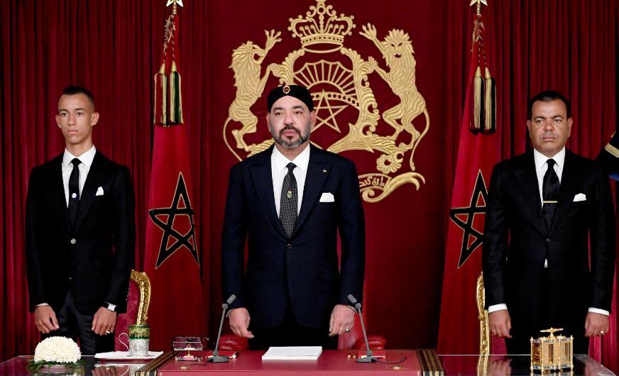 الملك يوجه غدا الثلاثاء خطابا إلى الشعب المغربي