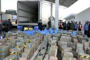ميناء طنجة المتوسط.. إحباط محاولة لتهريب شحنة قياسية من المخدرات
