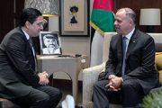 نائب العاهل الأردني يستقبل بوريطة
