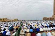 المغاربة يؤدون صلاة العيد في مختلف مساجد المملكة