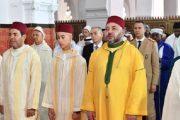بمدينة تطوان.. الملك يؤدي صلاة العيد وينحر الأضحية