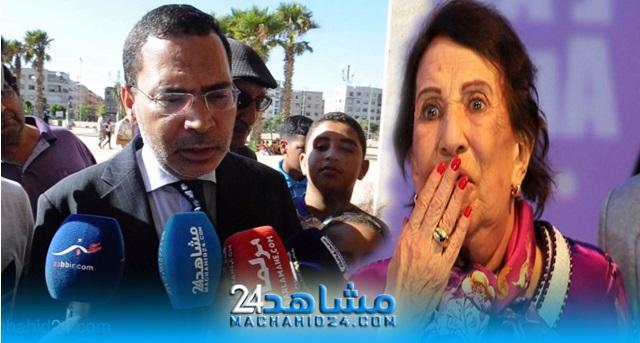 بالفيديو.. مصطفى الخلفي ينعي أمينة رشيد:
